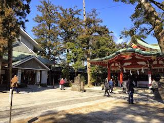 埼玉稲荷初午祭(平成27年2月11日)