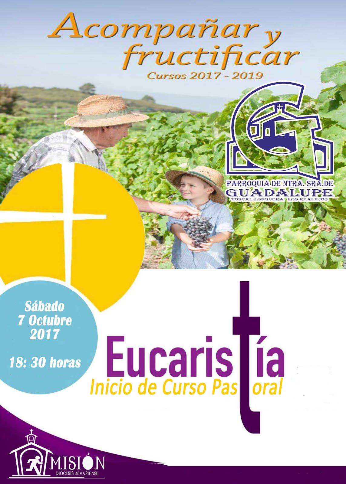 Eucaristía, nuevo Curso Pastoral 17 - 18