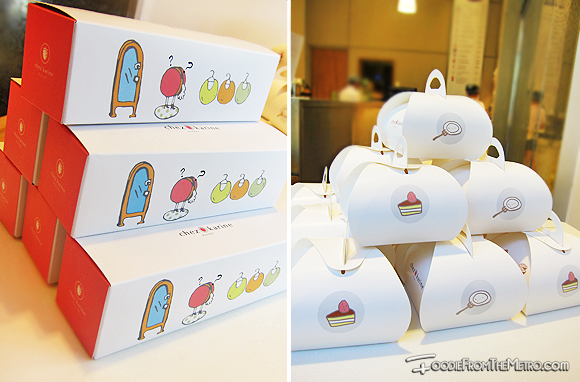 Foodie from the Metro - Chez Karine Bakery Packaging