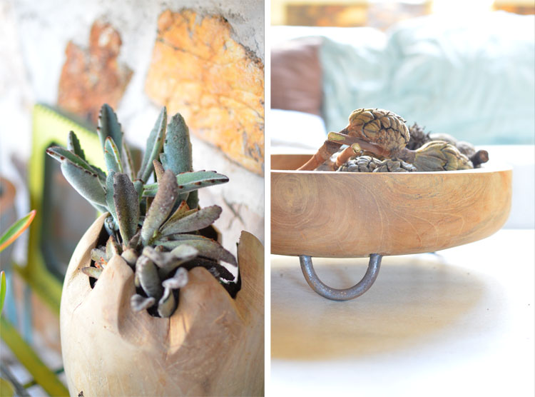 Teak Closeouts Teak Root Accessories Stonecrest Photo by Amy Renea of A Nest for All Seasons