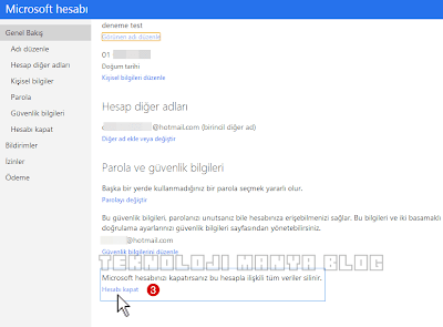 Hotmail Hesabı Silme +Outlook