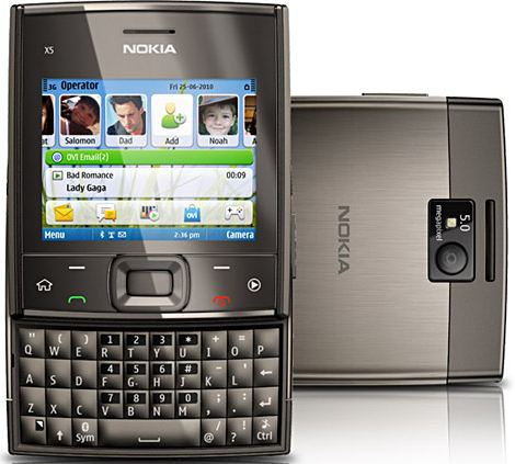 Harga Nokia X5-01 Dan Spesifikasi Lengkap
