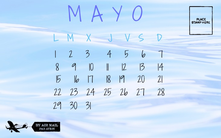 CALENDARIO MAYO 2017