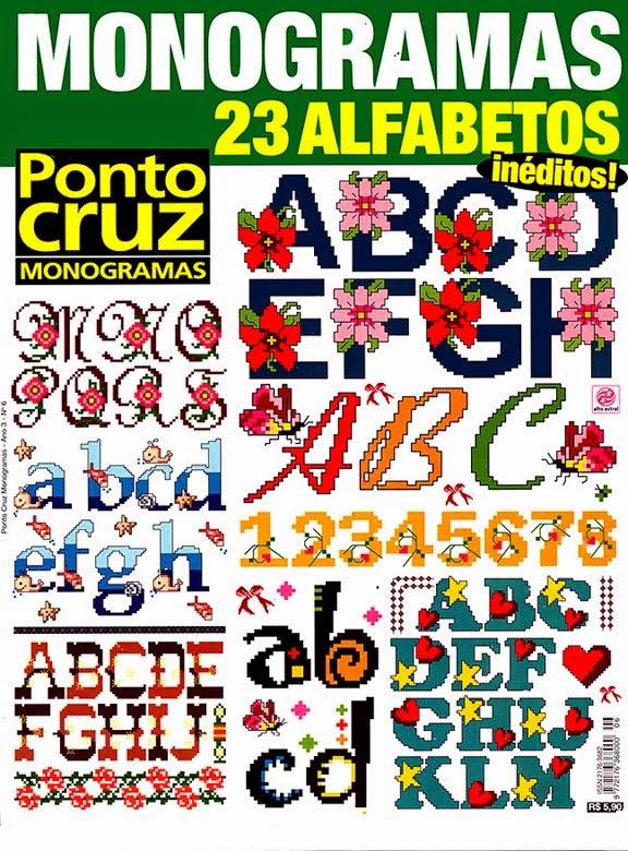 Alfabetos em Ponto Cruz