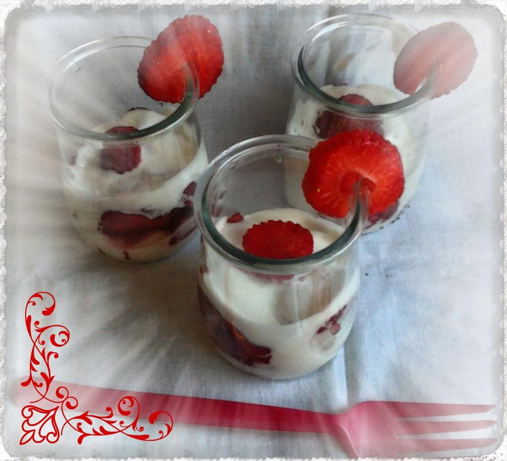 Fresas Con Yogur Griego