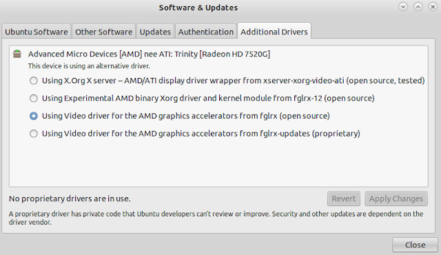 amd radeon hd 7520g ubuntu driver