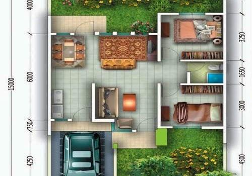 Desain Rumah 9x6
