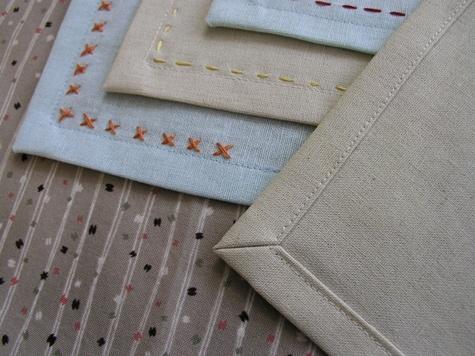 Салфетка из ткани своими руками фото