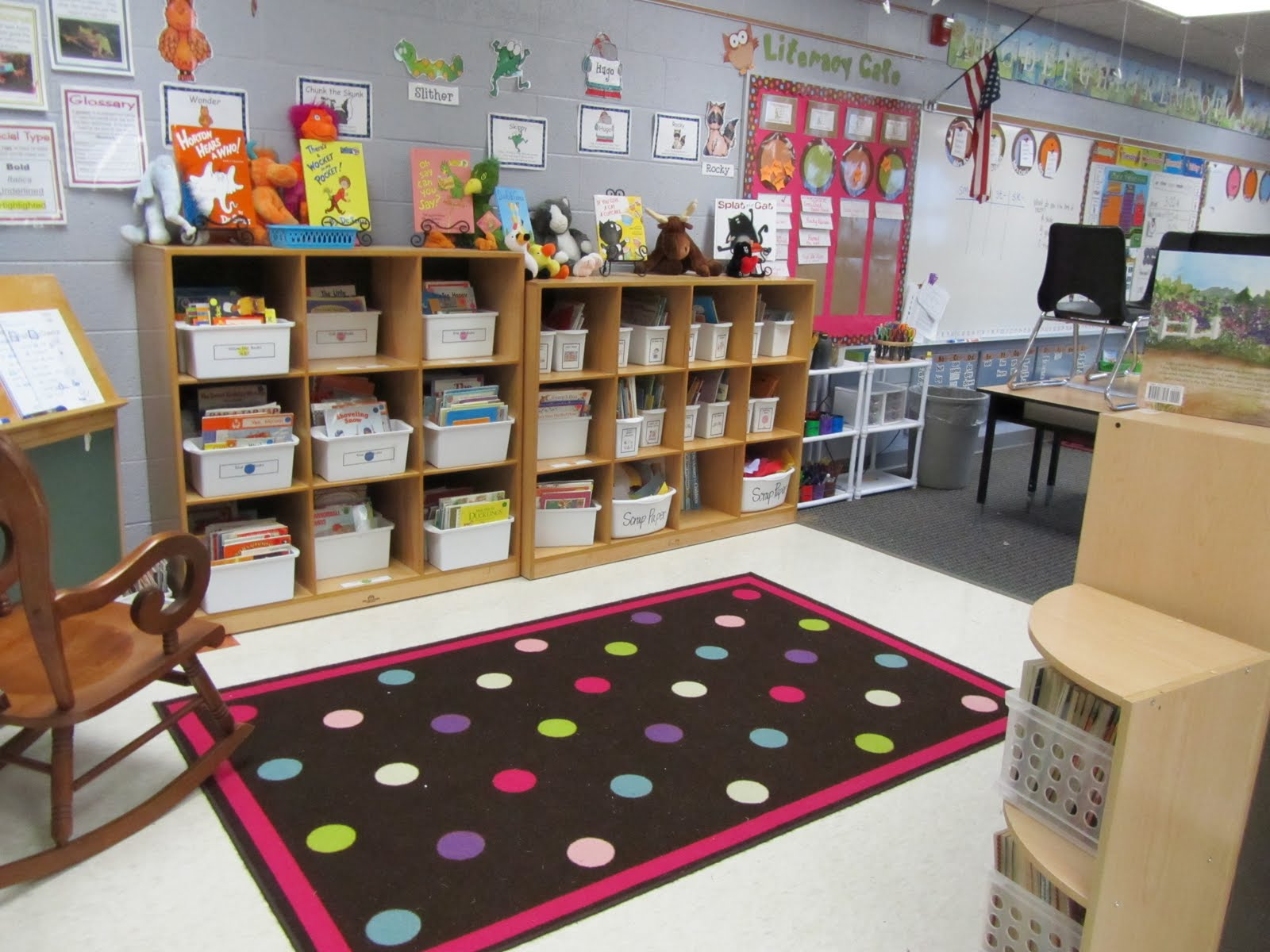 Classroom Library Ideas ~ Classroom theme decor organizations