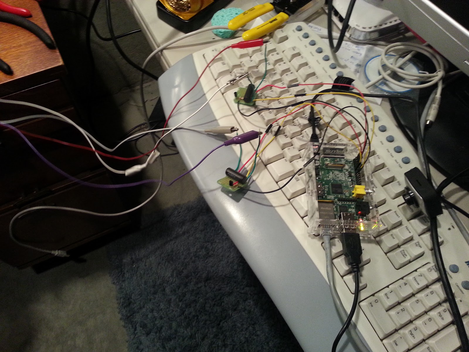 Lots Of Cool Geeky Things Frankenfeeder Part Ii Raspberry Pi Power Controller Schematic Susanet The Long And Short It Was That When We Tripped Gpio Pins How Is In Iii Came To Life Rumbled Around On Desk