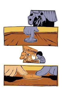 História em quadrinhos sobre amor. Arte e roteiro por Bruno Oliveira