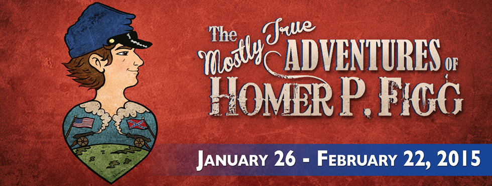 The Mostly True Adventures of Homer P. Figg Poster | The World of ...
