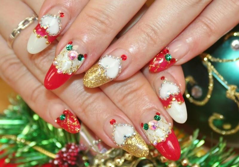 Nail art: Christmas nail art designs