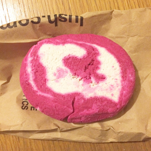 lush bubble bar and christmas items