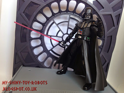 The Sith Lord arrives