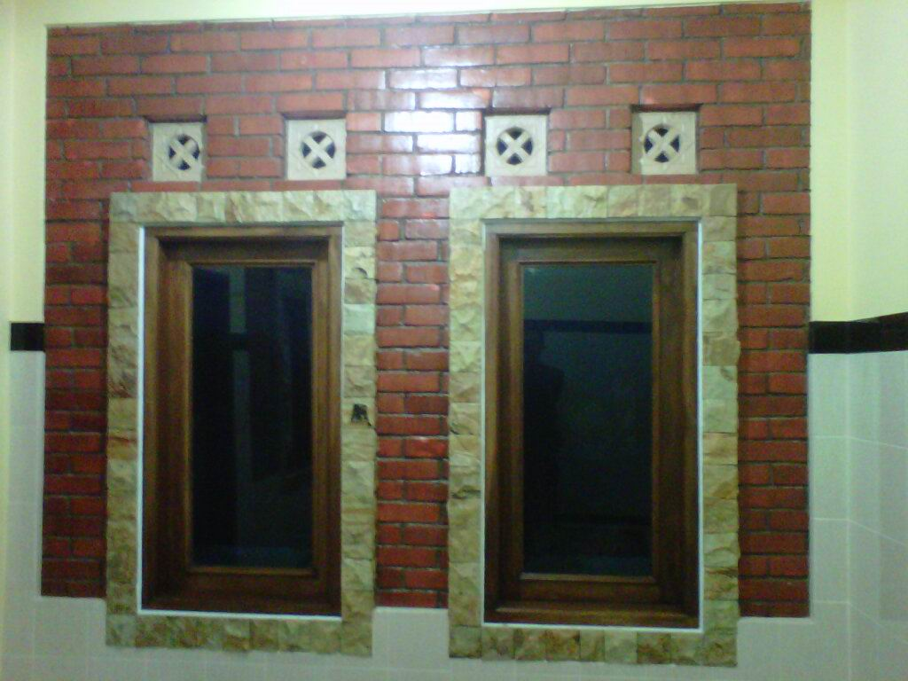 harga bahan bangunan hiasan dinding dengan batu alam