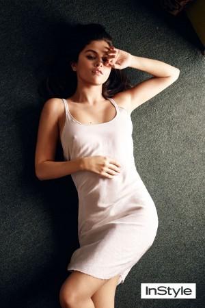 Selena Gomez aparece en la revista InStyle (FOTOS)