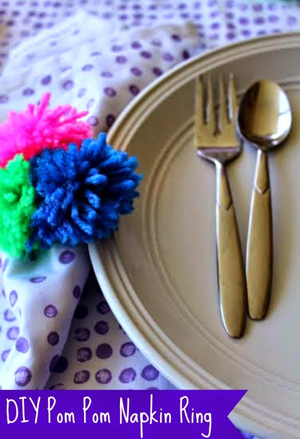 pom pom easy craft