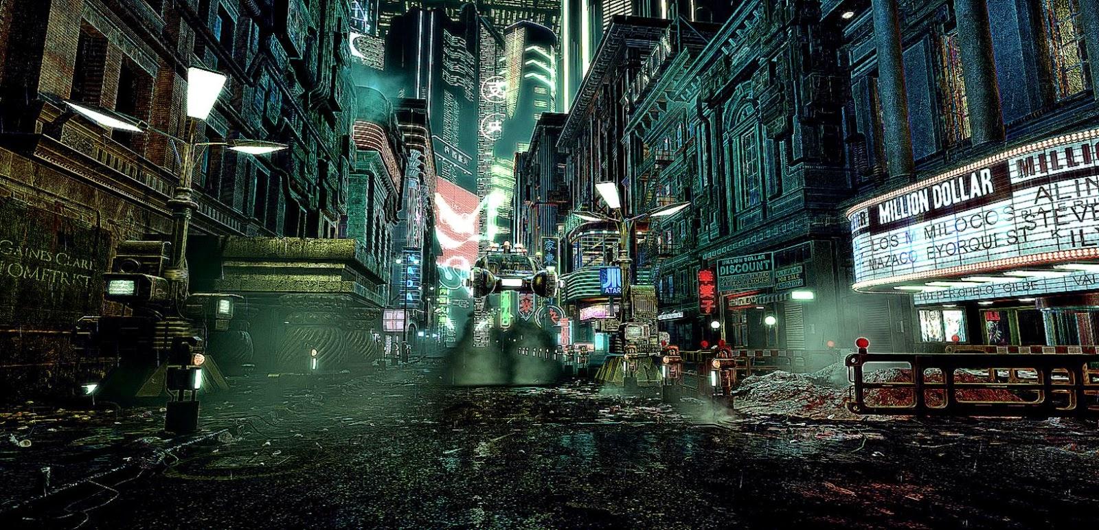 Blade runner city interesting