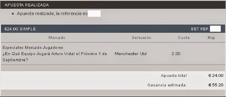 Apuestas Deportivas Rosberg Fútbol Fichajes Vidal Manchester United
