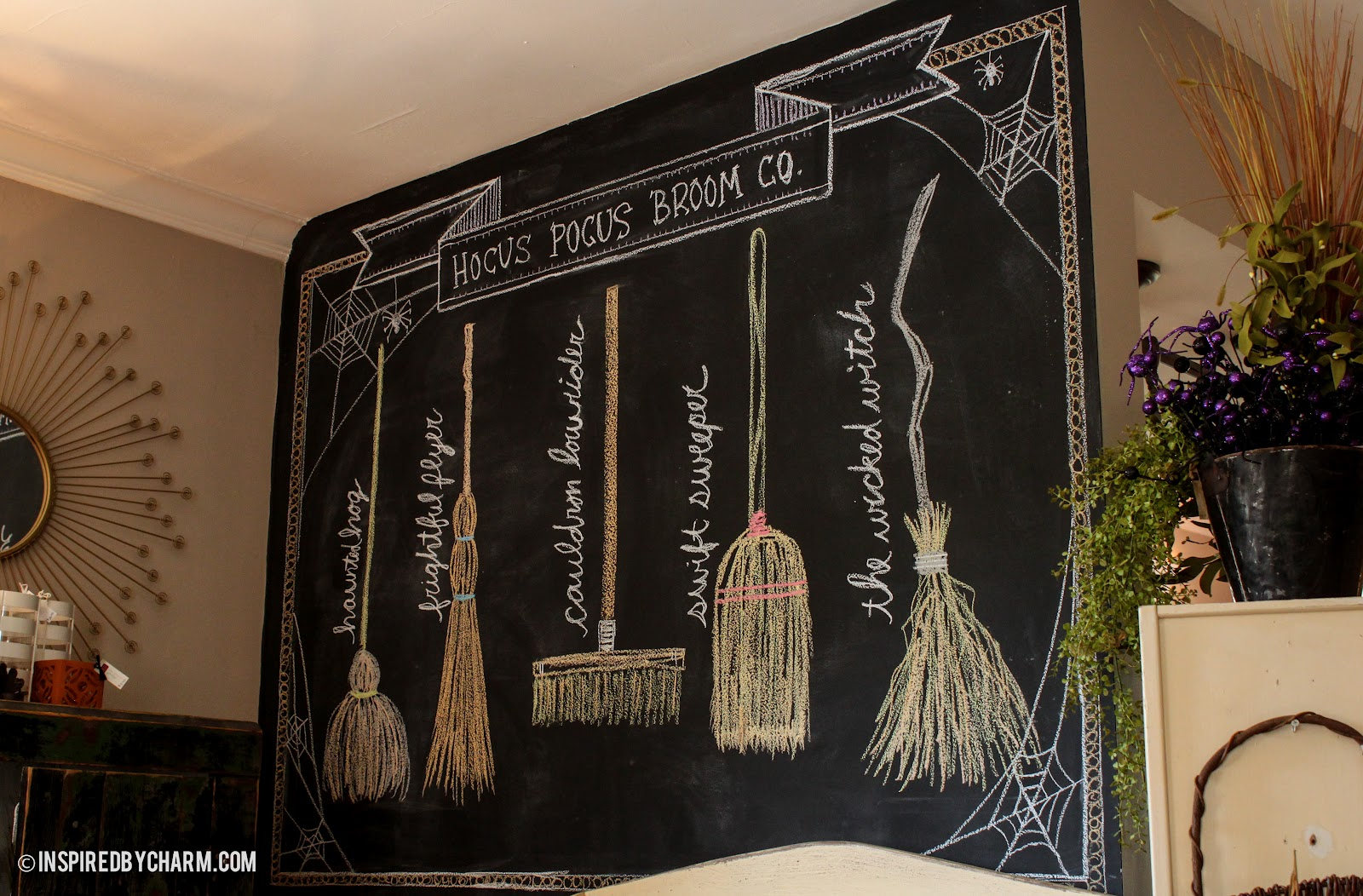 Hocus pocus broom co - Deco chambre harry potter ...