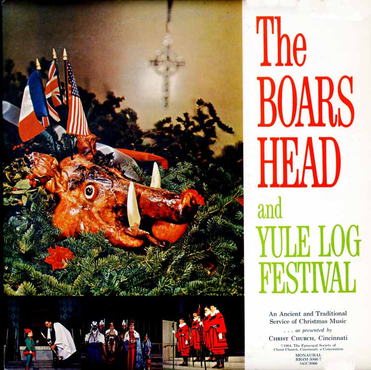 An English Christmas - The Boars Head and Yule Log Festival ...