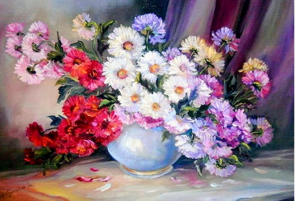 bodegones-con-arreglos-florales
