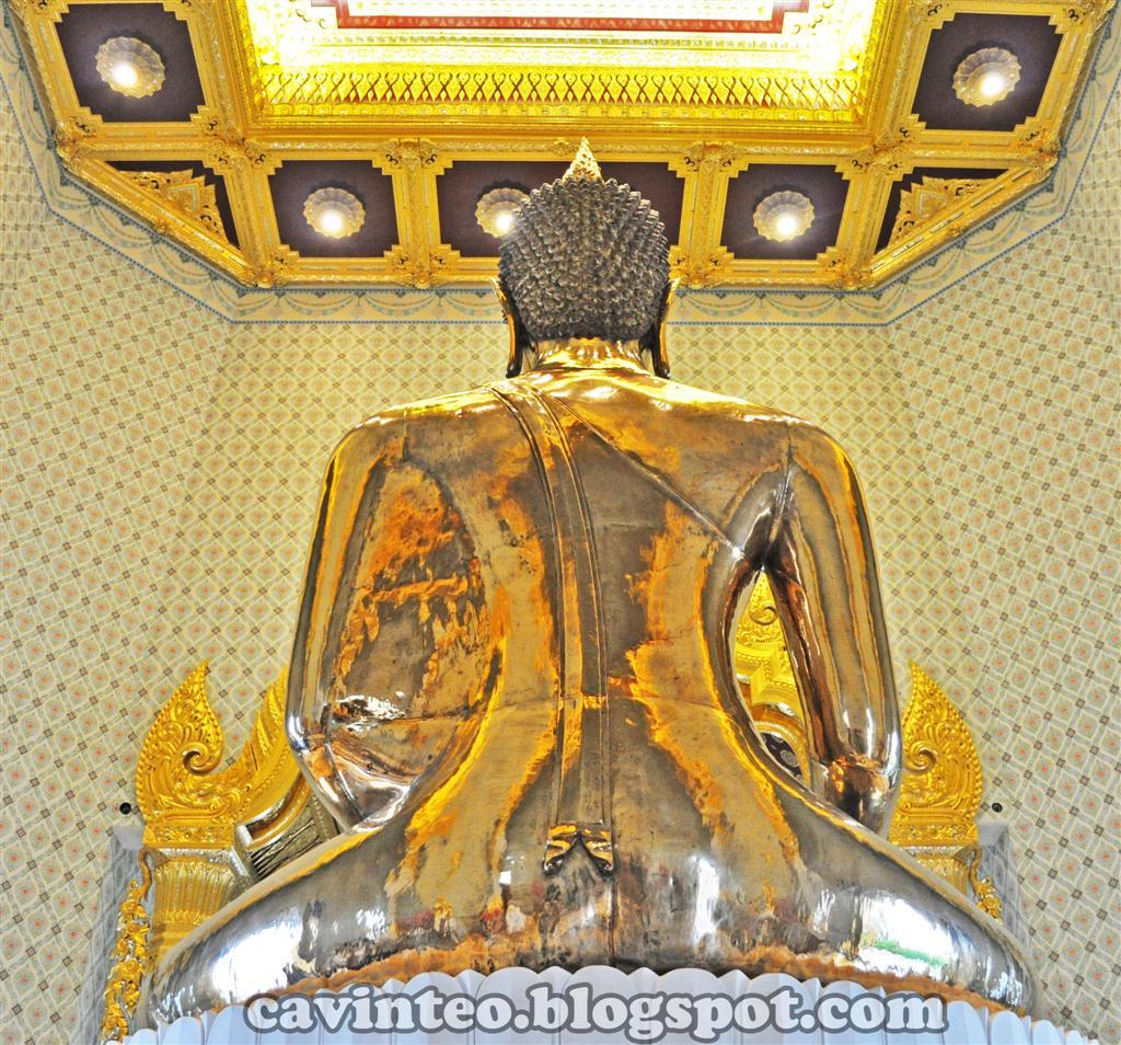 Rubbing her buddha like belly - 3 1