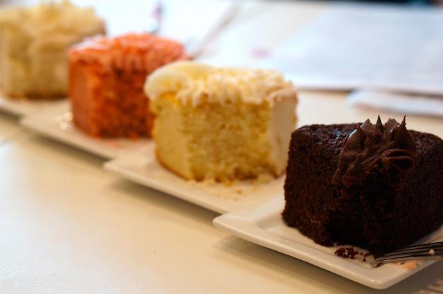 Cakery Bakery, chocolate cake, lemon cake, strawberry cake, vanilla cake, chocolate buttercream frosting, lemon buttercream frosting, strawberry buttercream frosting, vanilla buttercream frosting,