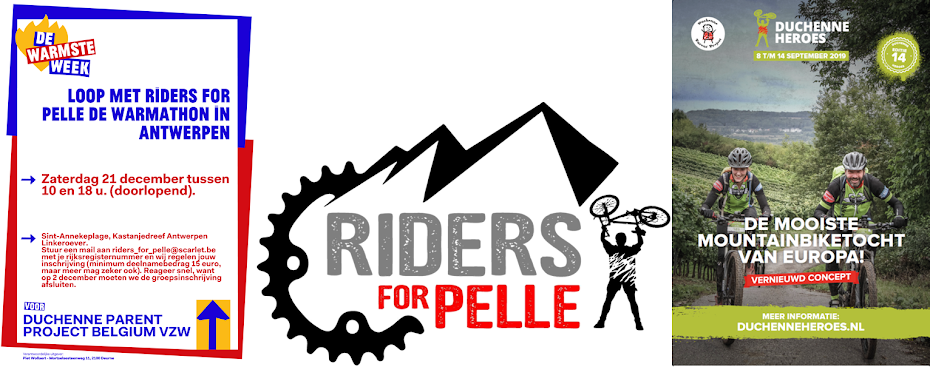 Loop met Riders for Pelle de Warmathon in Antwerpen