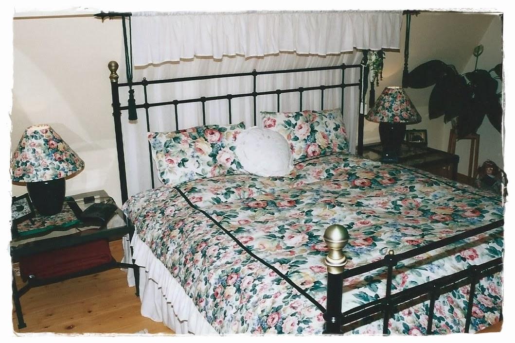 Shabby Landhaus: Vorher-Nachher .Schlafzimmer
