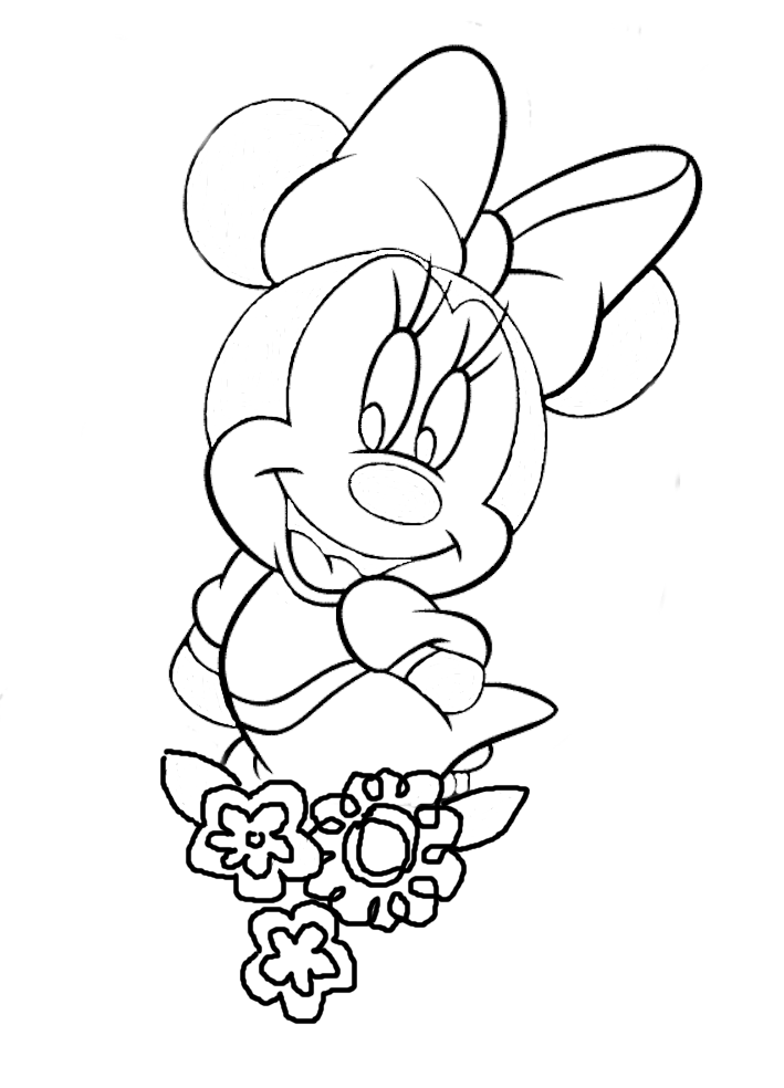 Gallery For gt Original Minnie Mouse Sketch