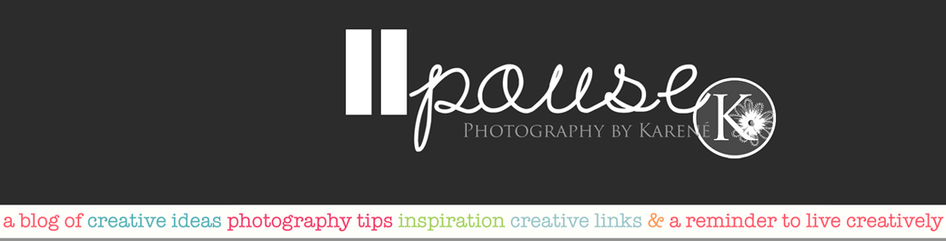Pause Photography - Living creatively