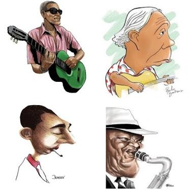 Grandes nomes do Samba