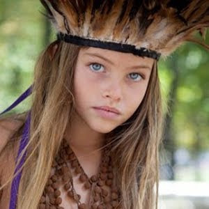 法 10歲女模 布蘭朵(Thylane Lena-Rose Blondeau)