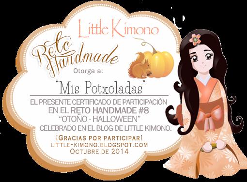 Certificado del Reto Handmade Little Otoño-Halloween