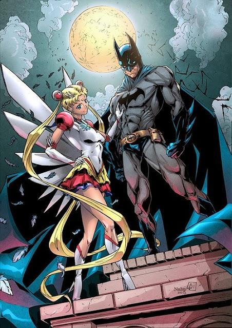 Crossover Sailor Moon / Batman