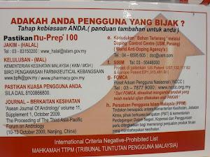 Tongkat Ali Nu-Prep 100 - Petronas KLCC ' Panduan Pengguna Bijak Malaysia '
