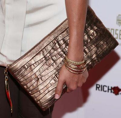 Dania Ramirez Gold Bracelet