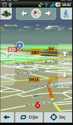 igo my way teknolopedi 2 Android Türkçe Navigasyon Uygulaması İgo My Way