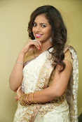 gowthami chowdary glamorous in saree-thumbnail-19