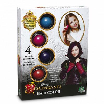 TOYS : JUGUETES - DISNEY Los Descendientes Kit para el pelo | Hair Color Producto Oficial Película Disney Channel | Giochi Preziosi  Comprar en Amazon España