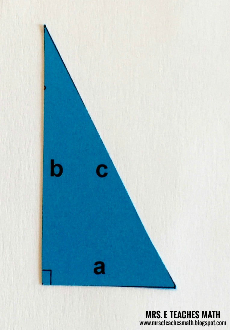 Pythagorean Theorem Proof Without Words   Mrs. E Teaches Math