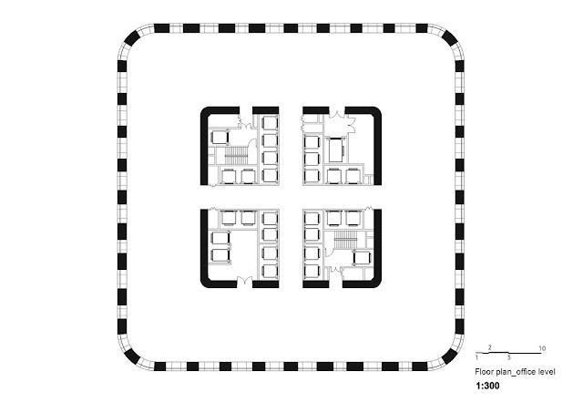 Sinosteel skyscraper floor plan