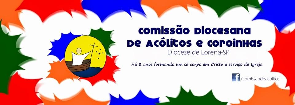 Comissão Diocesana de Acólitos-Diocese de Lorena-SP