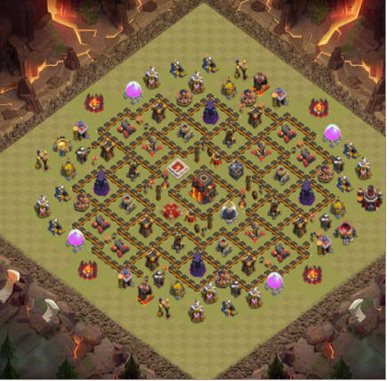 war Game COC TH 10