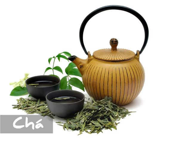 história do chá