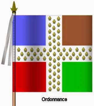 Royal Roussillon Infanterie Ordonnance Flag