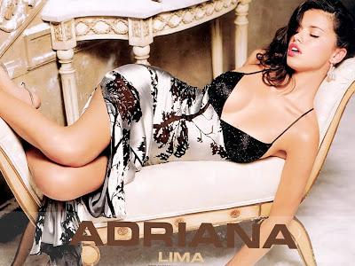 Relaxed Adriana Lima