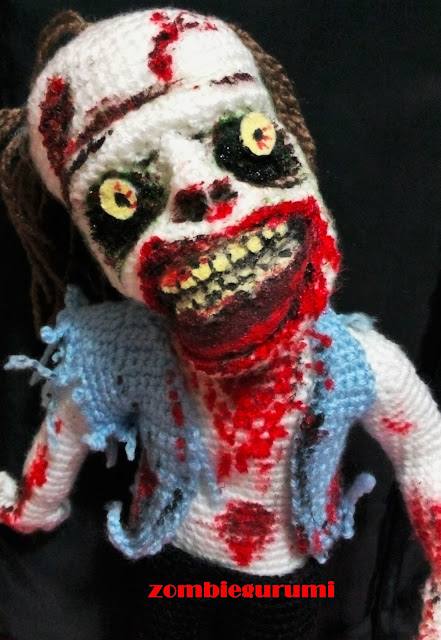 zombie amigurumi